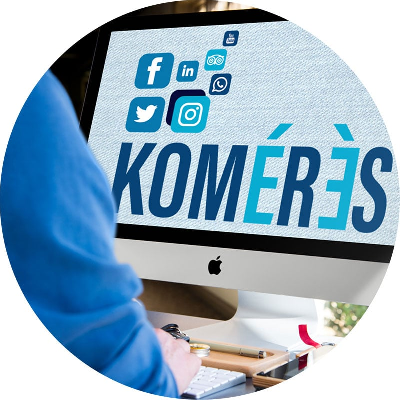 L'agence de communication digitale Komérès est spécialisée dans l'optimisation du référencement SEO et SEA pour gagner en visibilité